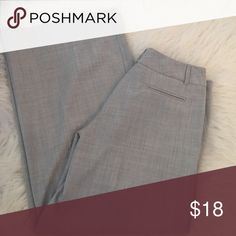 Grey Trouser Wide legged trouser by Body by Victoria. Marisa Fit Victoria's Secret Pants Wide Leg