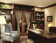 Sophisticated Home Study Design IdeasHome library design