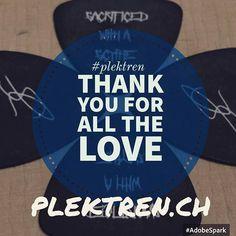 Danke für Euren Support! Thanks for all the great support! #rocknroll #plektren #plek #guitar #gitarre