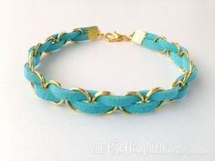 This DIY Easy Braided Bracelet is so much fun to make and the possibilities are endless, combine colors and metal parts to match your outfits