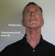 Exercise for front of the neck