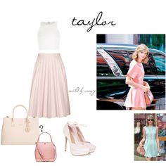 taylor swift style inspiration x x x Taylor Swift Style, Furla, River Island, Tory Burch, Style Inspiration, Polyvore, How To Wear, Image, Fashion