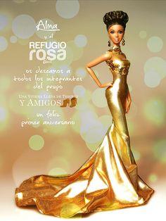 Refugio Rosa Alma Barbie Doll 2014
