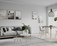 3D-visualisering   Fly By Media   Norge 3d Visualization, Gallery Wall, Projects, Home Decor, Log Projects, Blue Prints, Decoration Home, Room Decor, Home Interior Design