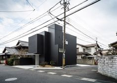 Japanese family home combined with an art gallery and workspace.