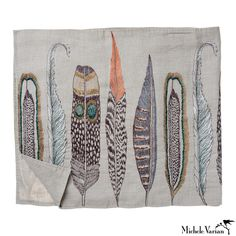 Feather Table Runner