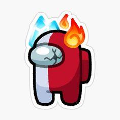 Pegatinas: Among Us | Redbubble My Hero Academia Shouto, Hero Academia Characters, Anime Characters, Anime Stickers, Cute Stickers, Preppy Stickers, Printable Stickers, Chibi, Deku Anime