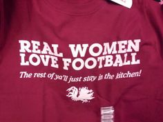 real women love football. sec football.