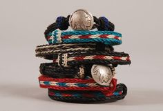We don't typically recommend bracelets but these, we feel, are uber cool (Horse Hair Bracelets by Chamula)