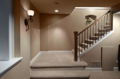 Hilltop Crawlspace Conversion | Remodeling by Basements & Beyond | We merged an existing basement area with a large crawlspace to create a full basement plan.