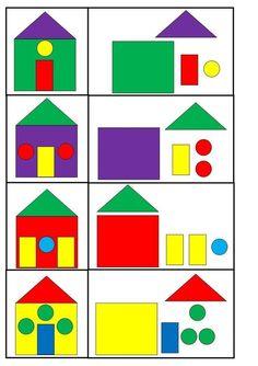Kindergarten is a joy for children! Preschool Learning Activities, Preschool Worksheets, Infant Activities, Preschool Activities, Kids Learning, Educational Activities, Oral Motor Activities, Puzzles For Toddlers, Math For Kids