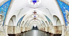 The Hypnotizing Beauty Of Russia's Historic Metro Stations | Bored Panda