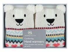 Aroma Home Polar Bear Click and Heat Hand Warmers Hidden Treasures, Hand Warmers, Polar Bear, Snoopy, Amazon Fr, Polar Fleece, Bears, Gift Ideas, Hands