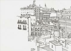 Rooftops, Barcelona | por szaza