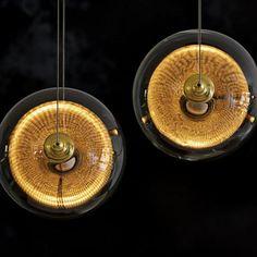 """Otto Sphere 57"""" Wide 5-Globe Black Multi-Light Pendant"""