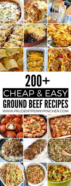 200 Cheap and Easy Ground Beef Recipes
