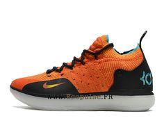 reputable site 56d4e 78be9 Chaussure de basket-ball Nike Classic Outsole KD 11 pour Homme Pas Cher Noir  Jaune