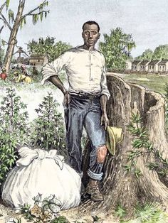 """The slave who spoke from beyond the grave   It was written in 1865 with the help of a lawyer in Dayton, Ohio. In it, the illiterate former slave suggests he might consider returning south from his new home where he was being paid 25 a month should the Colonel – who twice tried to shoot him – consider reimbursing him and his wife for the three decades they toiled in the fields unpaid.    He points out: """"In Tennessee there was never any pay-day for the negroes any more than for the horses and…"""