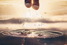 puddle jumper • by kimberly chorney