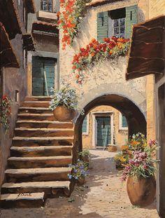 La Porta Dopo L'arco by Guido Borelli