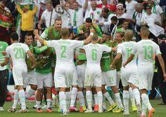L'équipe Algérienne de football a attiré l'admiration et forcé le respect,lors de la coupe du monde 2014 au Brésil,au moment où personne ne donnait cher de leur peau.