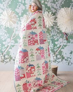 Tilda - Cottage - Quilt Pattern