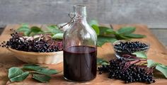 Benefits of Elderberry Syrup & Syrup Recipe Elderberry Growing, Elderberry Syrup, Elderberry Plant, Seasonal Allergies, Acai Berry, Izu, Real Food Recipes, Herbalism, Herbs