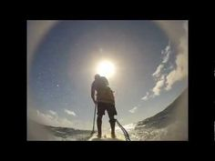 This is an awesome paddleboarding video featuring Carbonerro paddle