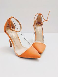 febb0459f13 Details about Lilliana Coral Heels 5.5