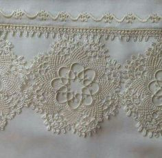 Shrink your URLs and get paid! Needle Lace, Bobbin Lace, Needle And Thread, Hobbies And Crafts, Diy And Crafts, Knitting Patterns, Crochet Patterns, Point Lace, Linen Towels