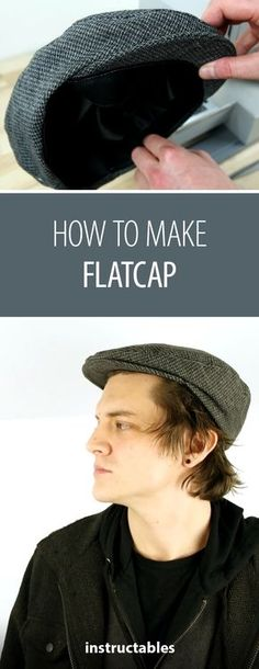 9ea18b4341cc1 Sewing a hat is easier than you think.  DIYfashion  sewing  cap