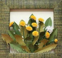 DIY Paper Dandelion