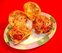 Sandwich de Chola - Comida Boliviana - Platos Latinos