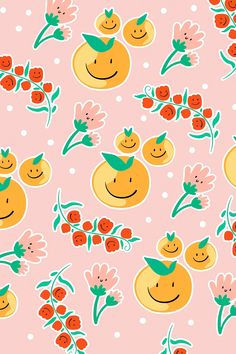 Cute flower patterned pink background vector   free image by rawpixel.com / pimmy Doodle Patterns, Flower Patterns, Print Patterns, Vector Background, Background Patterns, Bloom Blossom, Free Illustrations, Creative Inspiration, Wallpaper Backgrounds