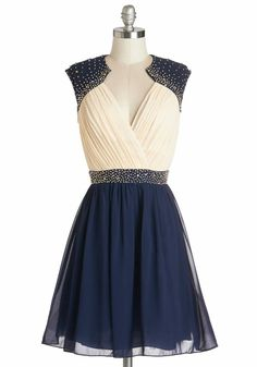 Dark Blue Lilt Dress