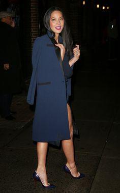 Olivia Munn shoes