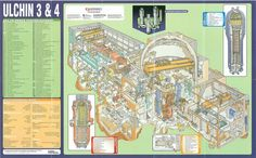 The World's Reactors, No. 100, Ulchin 3 & 4, South Korea. Wall chart insert, Nuclear Engineering, April 1998n by peacay, via Flickr