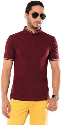 Buy Ebry Solid Men's Fashion Neck T-Shirt Online at Best Offer Prices @ Rs. 399/- In India. Only Genuine Products. 30 Day Replacement Guarantee. Free Delivery. Cash On Delivery!