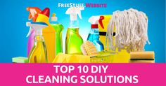I just love to find awesome cleaning solutions that you can make at home with little ingredients to help save you a bunch of money. Homemade cleaning solutions not only save you money, they clean your house without the use of harsh chemicals.