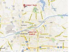 MAP IT! Fountain Square Apartments, Tuscaloosa, Alabama | Fountain ...