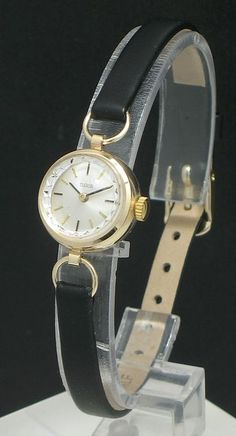 LOVELY SOLID 9CT GOLD ROLEX TUDOR LADIES COCKTAIL WATCH c1965 | eBay