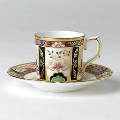 "Bloomingdale's Royal Crown Derby ""Gold Aves"" Tea Saucer - ShopStyle Dinnerware"