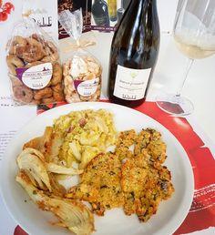 Cotoletta di alici con gustose verdure.  www.jo-le.com