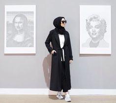 Ranihatta #hijabfashion Islamic Fashion, Muslim Fashion, Modest Fashion, Casual Hijab Outfit, Hijab Chic, Street Hijab Fashion, Abaya Fashion, Hijab Trends, Muslim Hijab