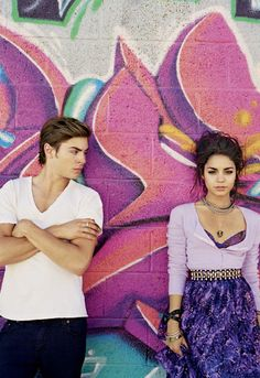 Zac Efron!!! And Vanessa, too. They're a cute couple... Me & him would be cuter though. :)