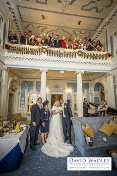 Fay and Mark at Swinfen Hall in December #weddingphotographs #swinfenhall #lichfield
