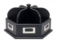 Amazon.com: Studio Designs Wood Desk Carousel in Black 12166: Arts, Crafts & Sewing