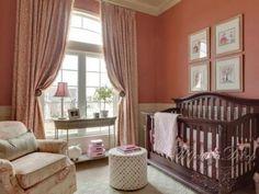 Детские комнаты в розовых тонах Любимый дом
