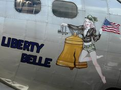 "Liberty Belle ""Poor old burnt ""Belle"" were any of the bits salvaged?"" KB"