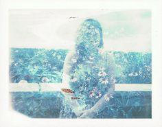 Cloisters, 2014  #polaroid #doubleexposure #photomanipulation #film
